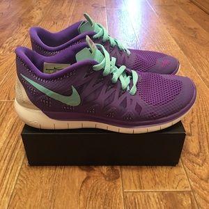 NIKE Free 5.0 Women's Running Shoes Size 7